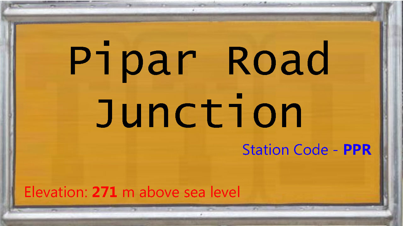 Pipar Road Junction