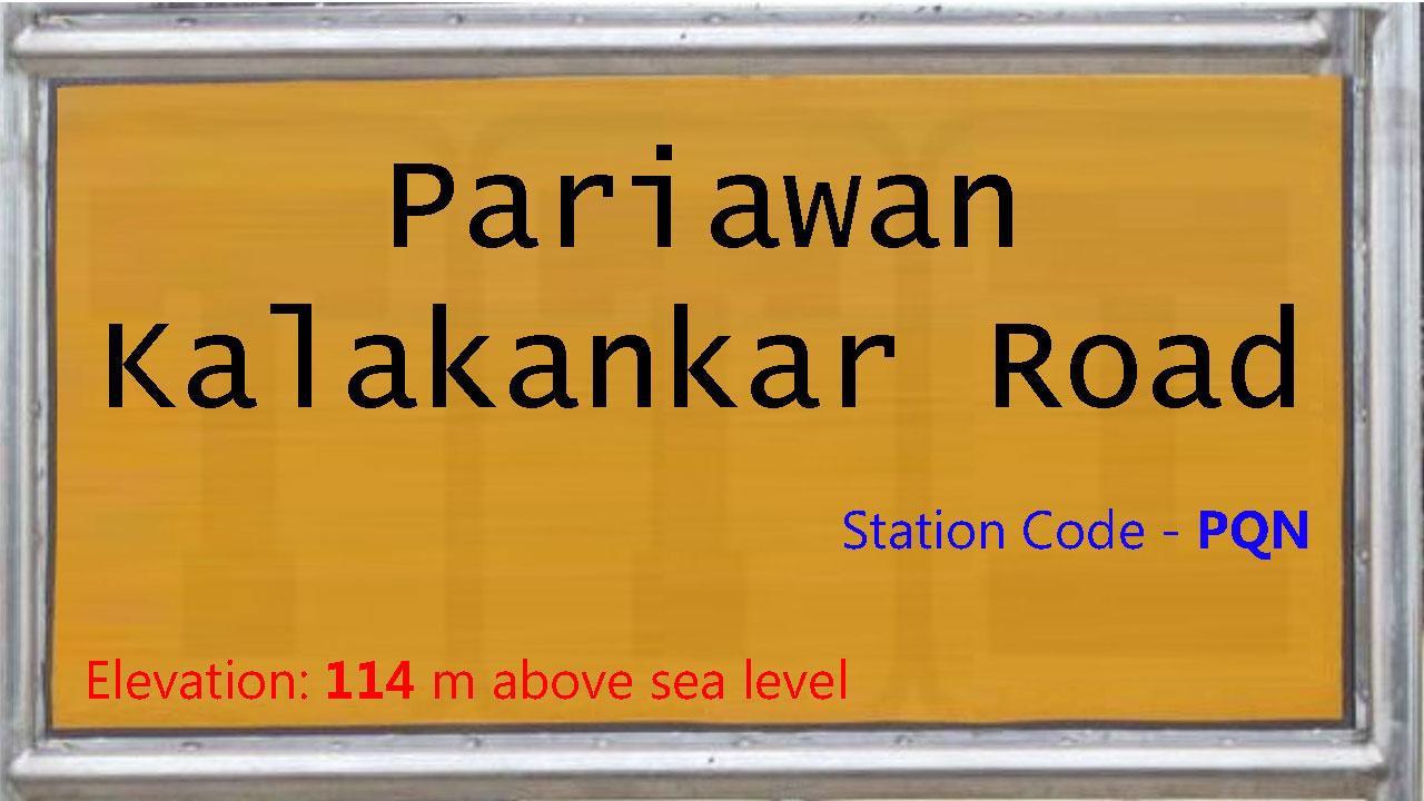 Pariawan Kalakankar Road