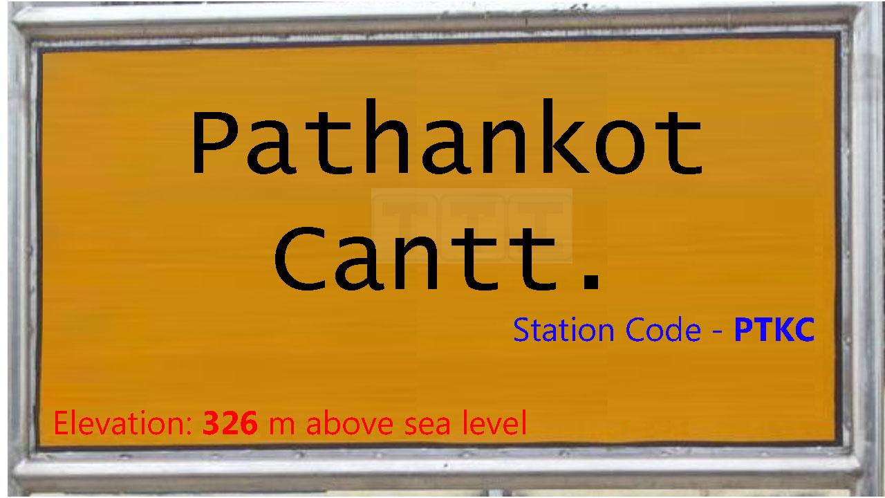 Pathankot Cantt.