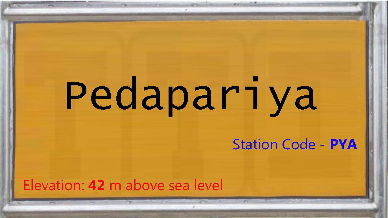 Pedapariya