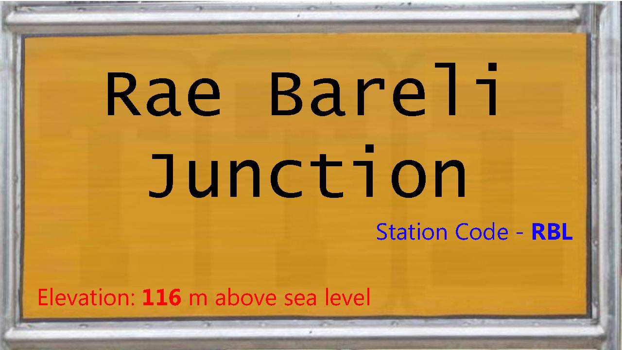 Rae Bareli Junction