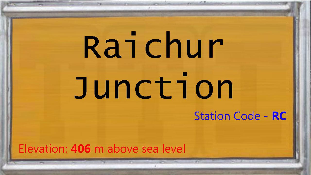 Raichur Junction