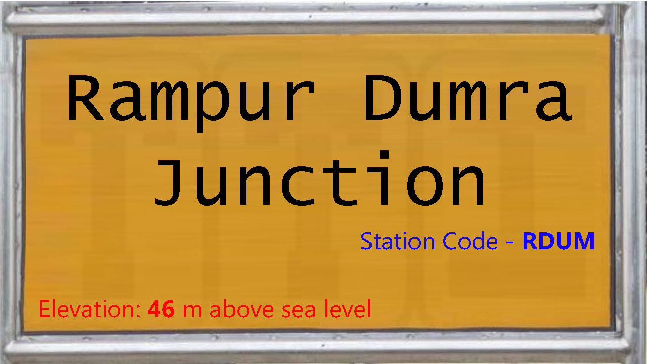 Rampur Dumra Junction