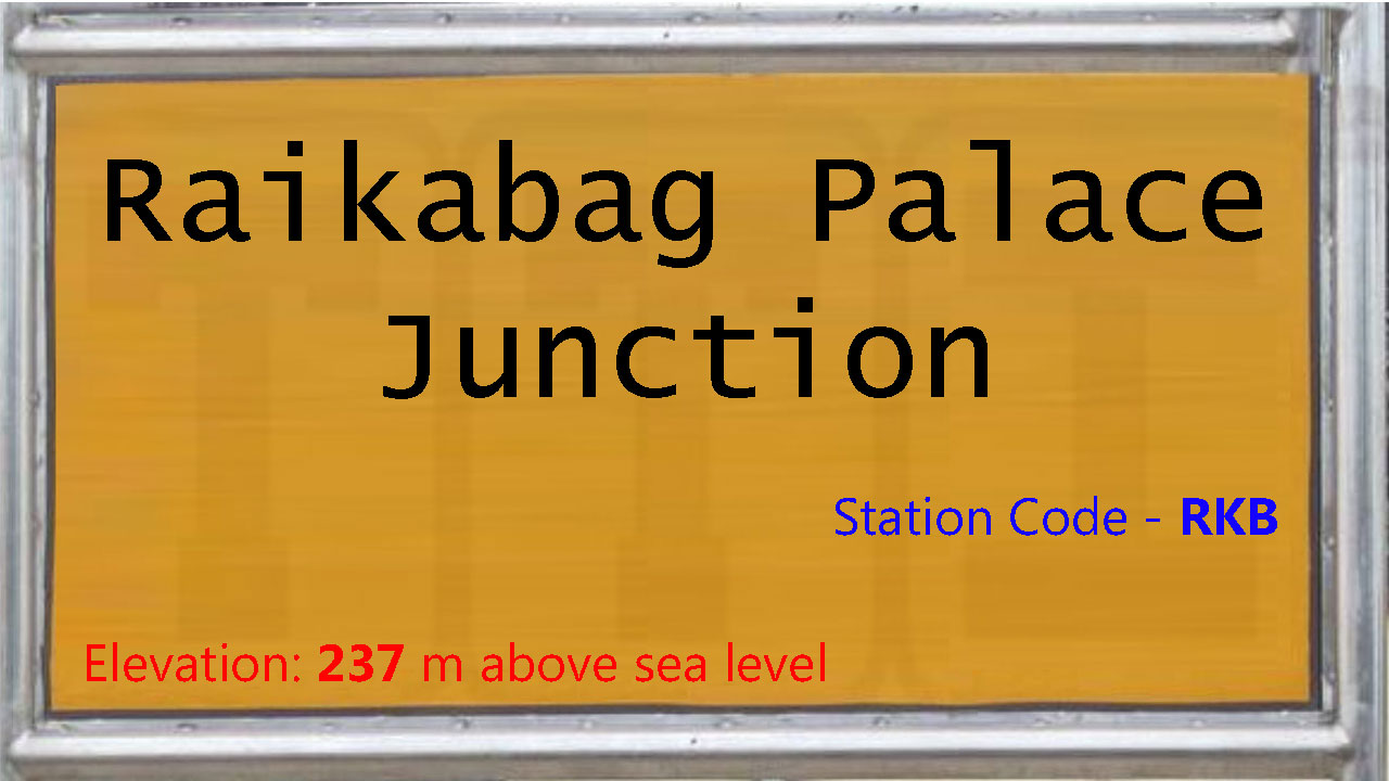 Raikabag Palace Junction