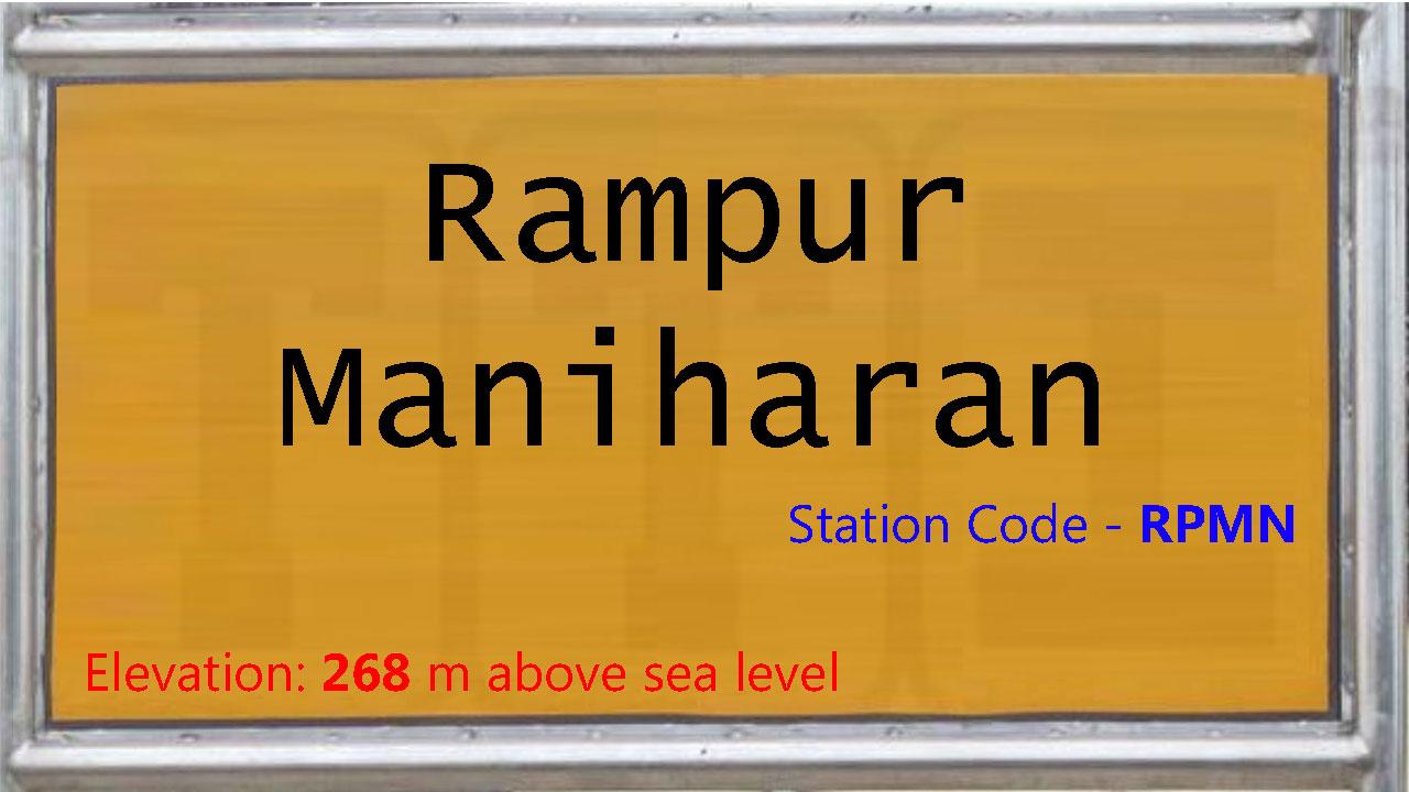 Rampur Maniharan