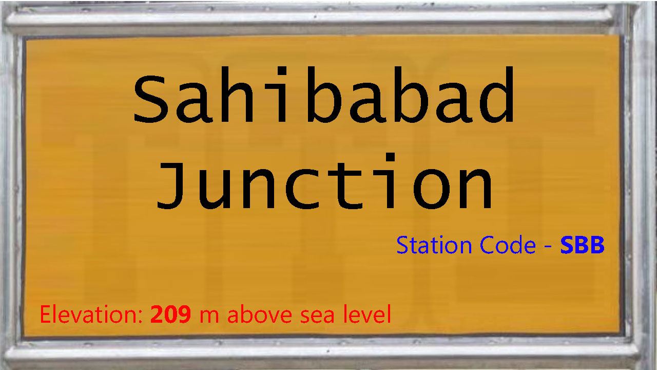 Sahibabad Junction
