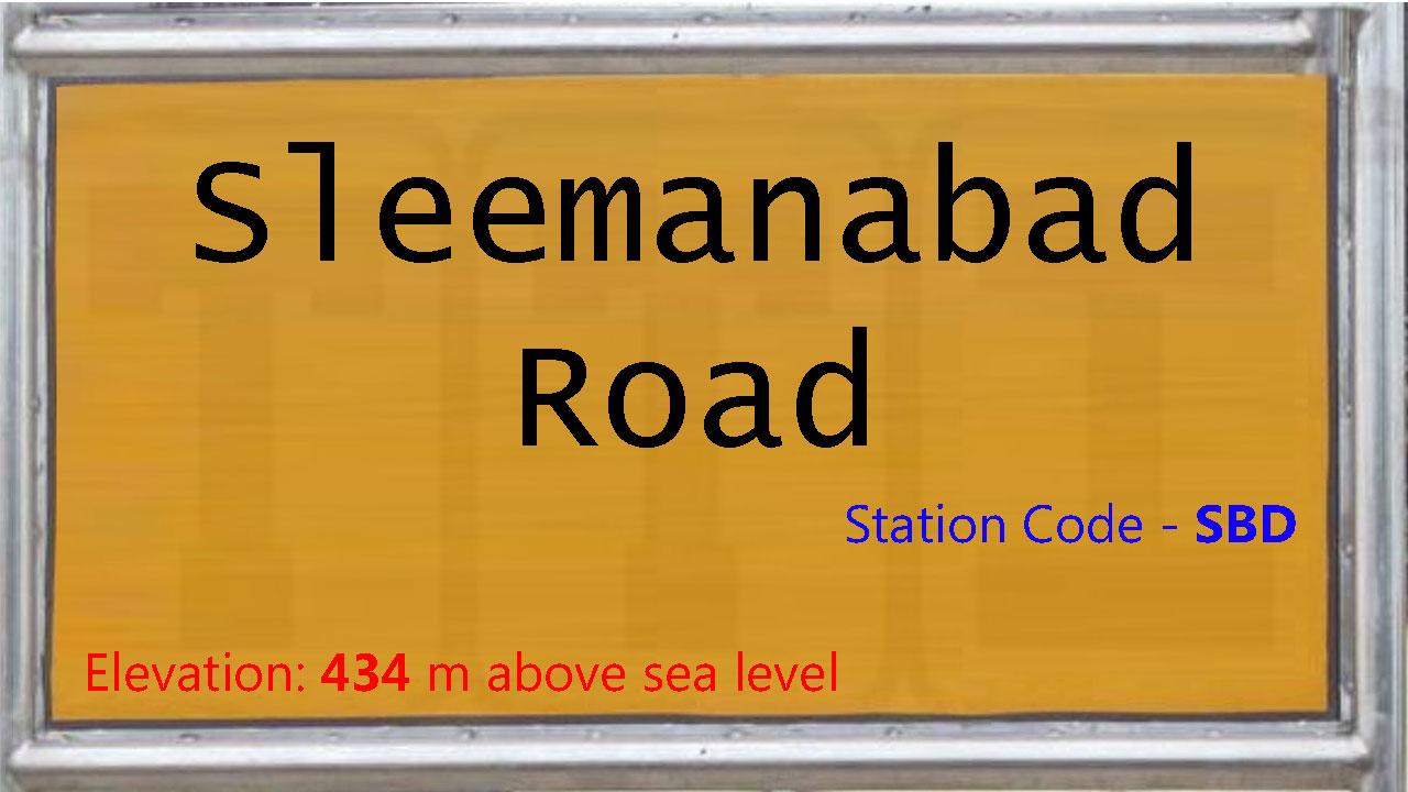 Sleemanabad Road
