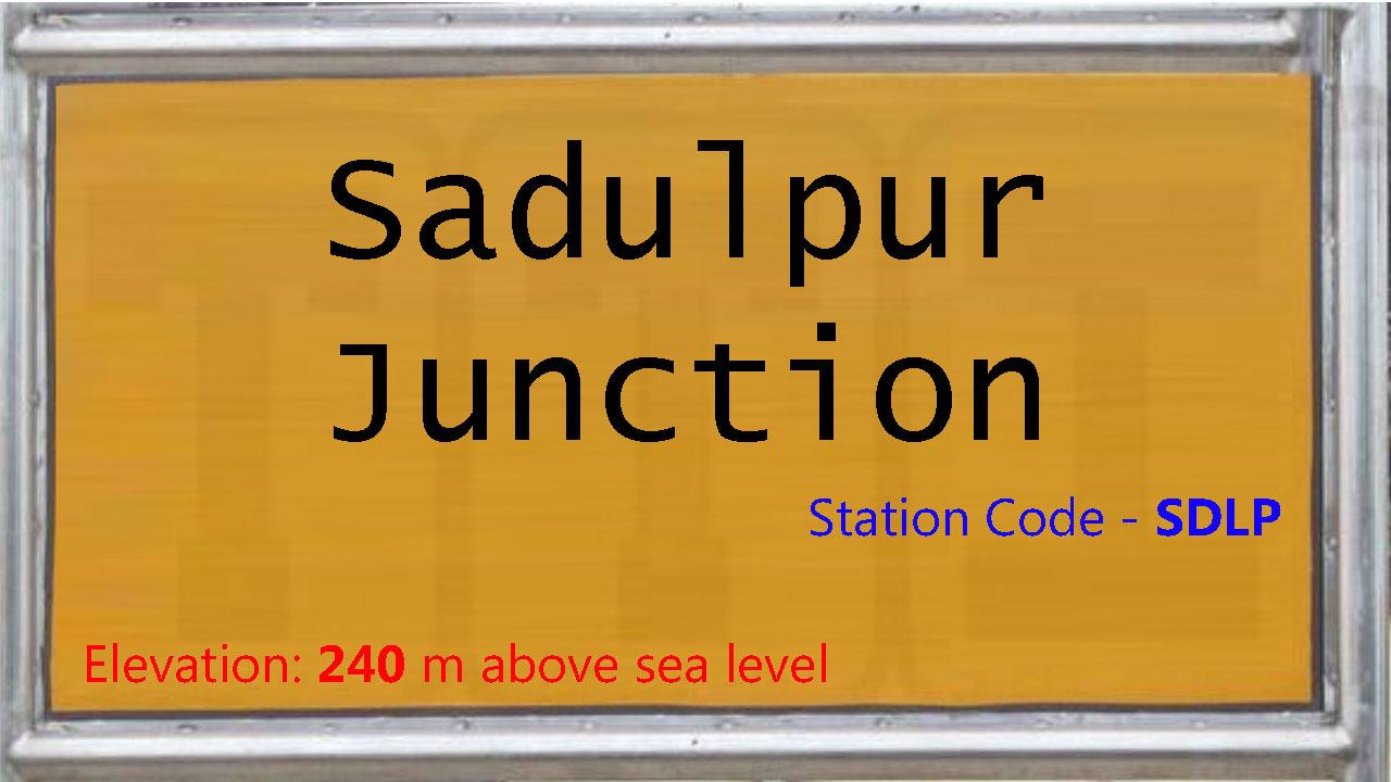 Sadulpur Junction