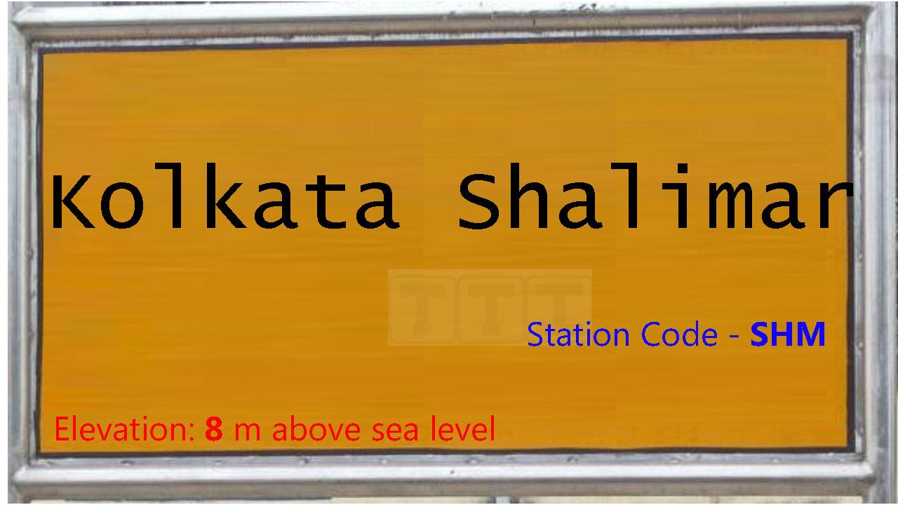 Kolkata Shalimar