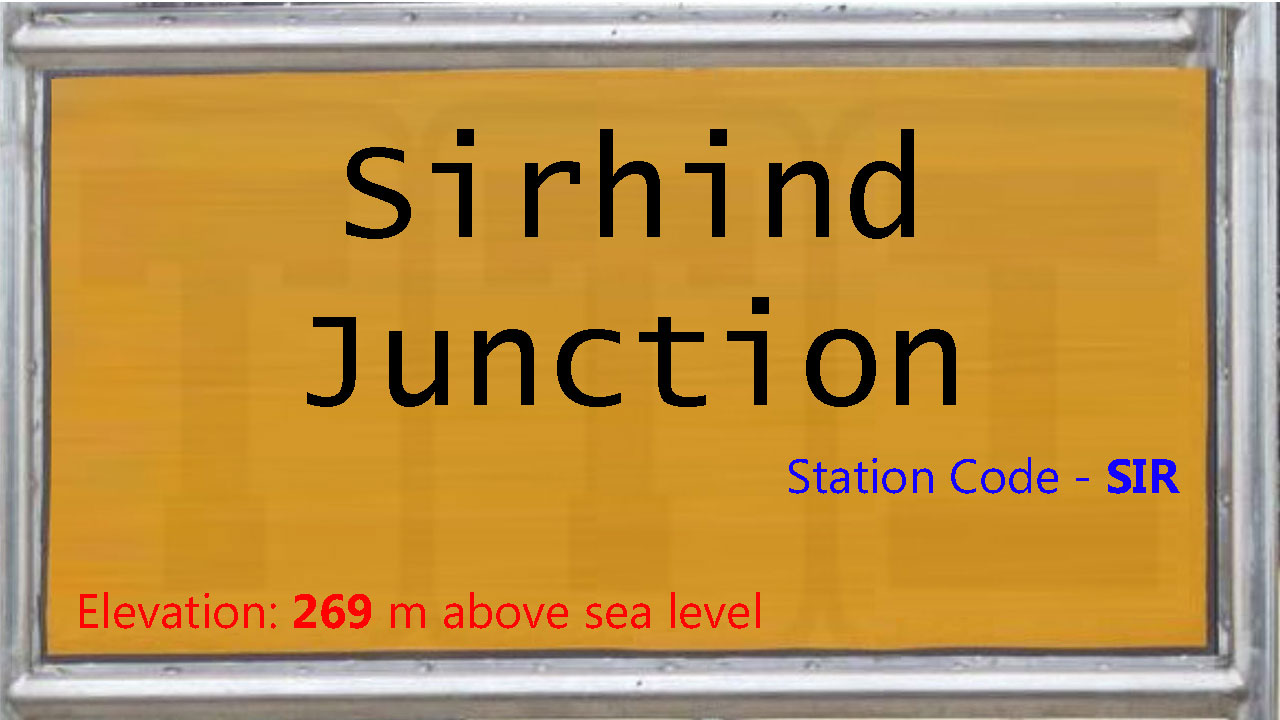 Sirhind Junction