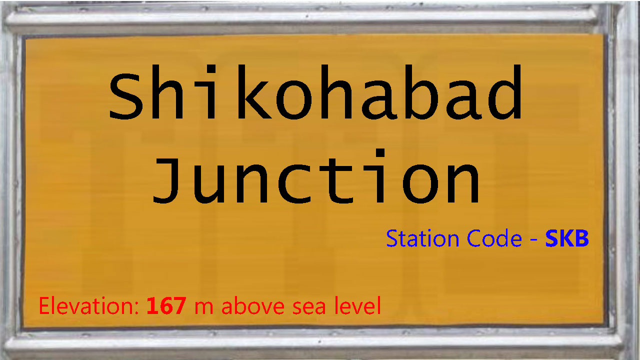 Shikohabad Junction