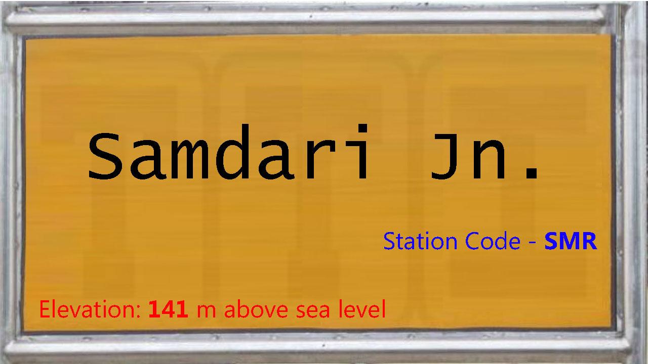 Samdari Junction