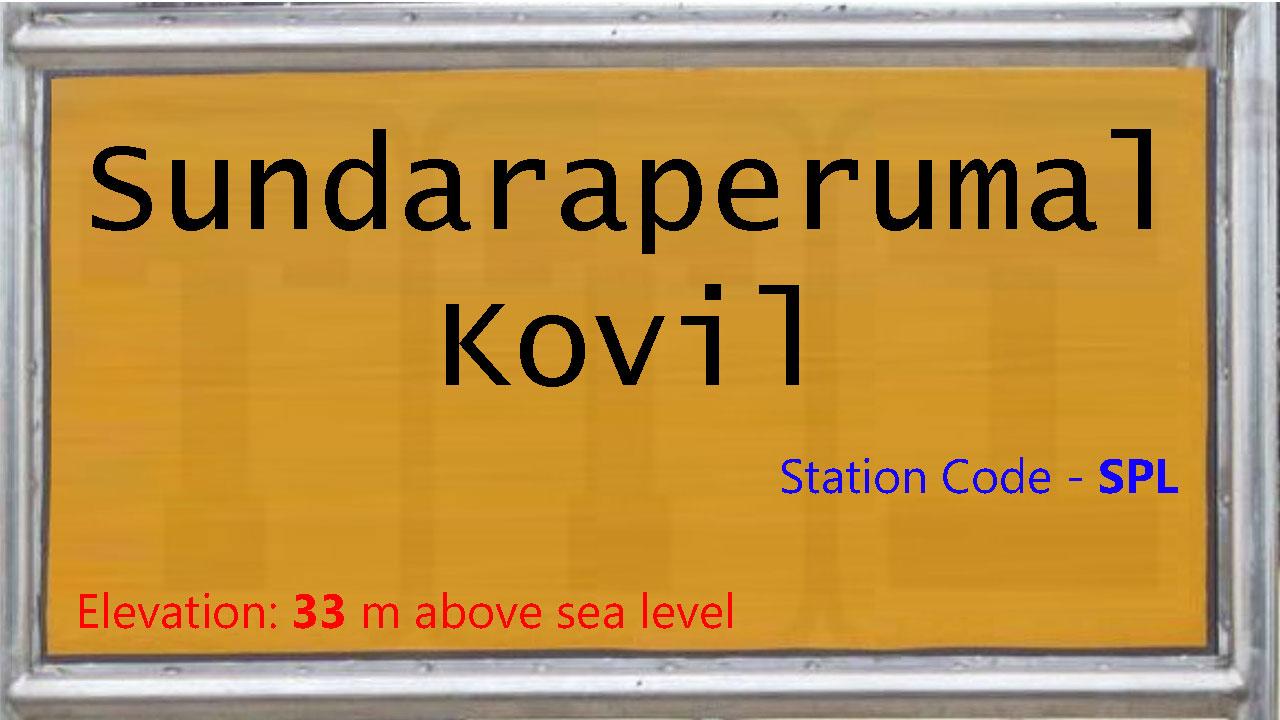 Sundaraperumal Kovil