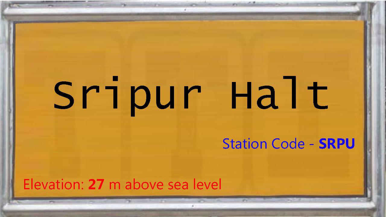 Sripur Halt