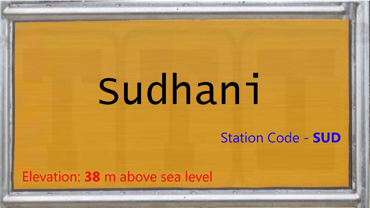 Sudhani