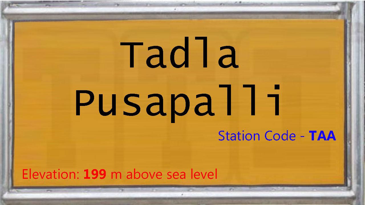 Tadla Pusapalli