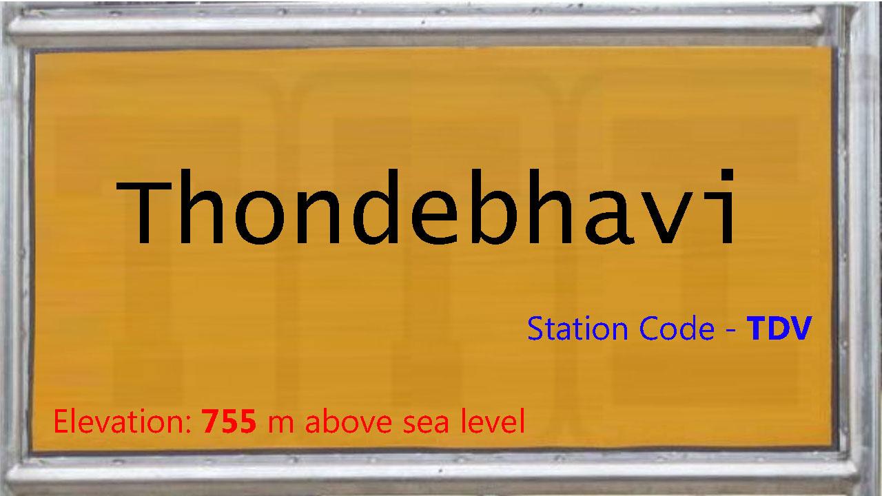 Thondebhavi
