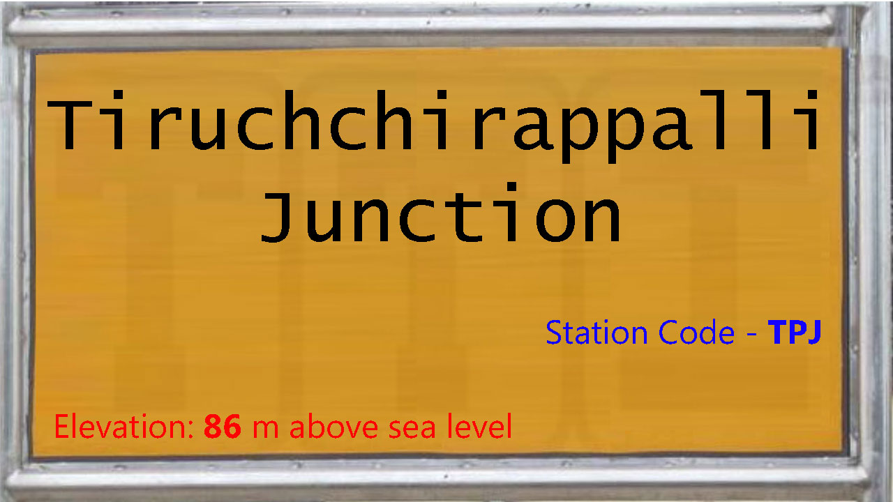 Tiruchchirappalli Junction