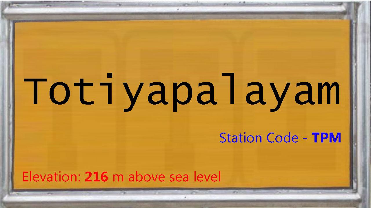 Totiyapalayam