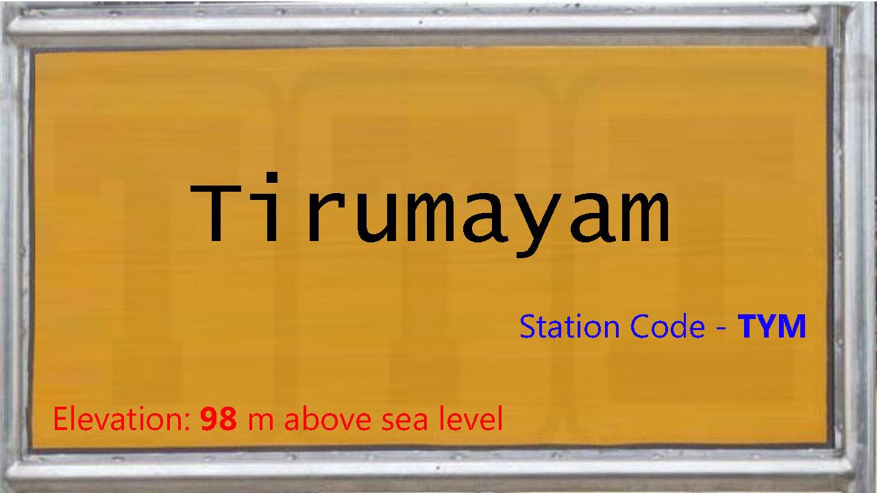 Tirumayam
