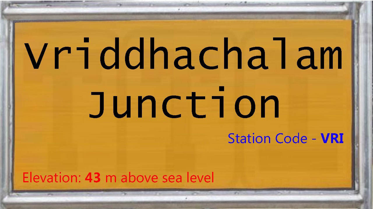 Vriddhachalam Junction
