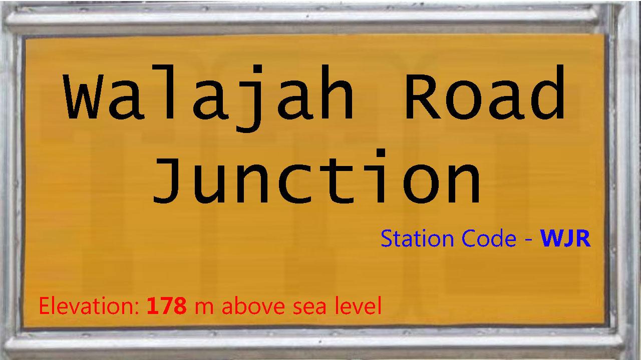 Walajah Road Junction