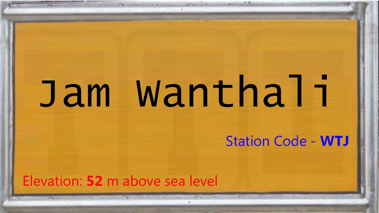 Jam Wanthali