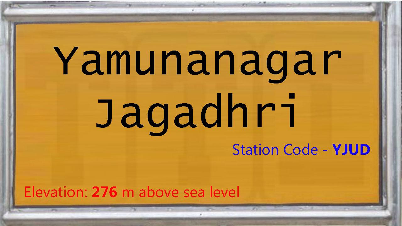 Yamunanagar-Jagadhri