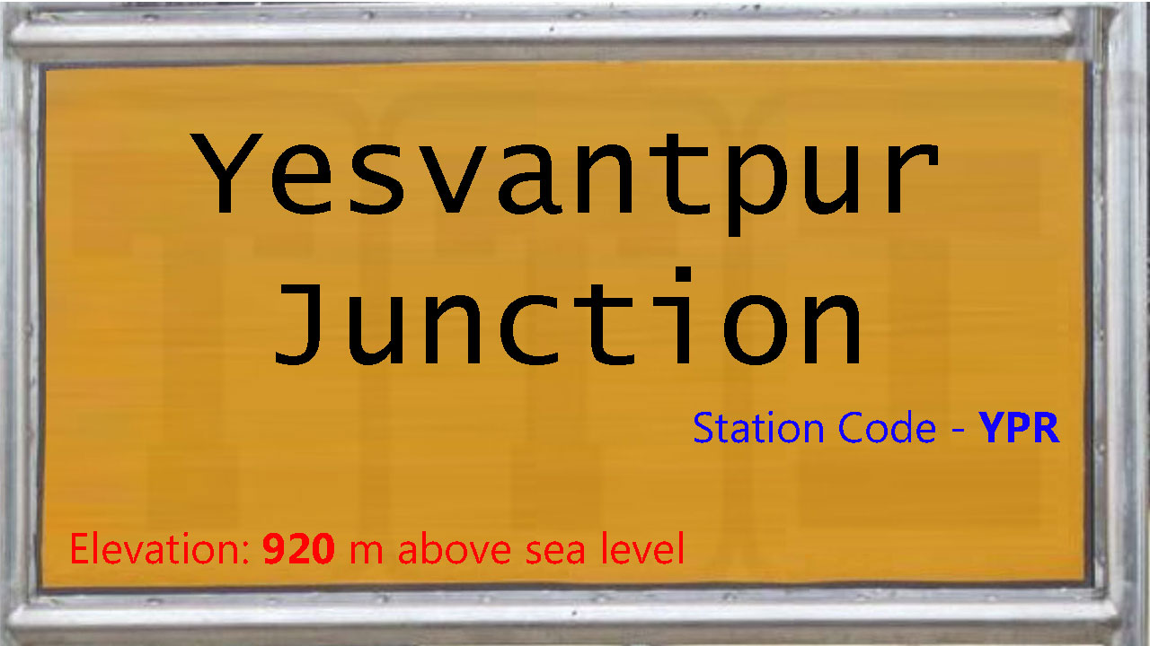 Yesvantpur Junction